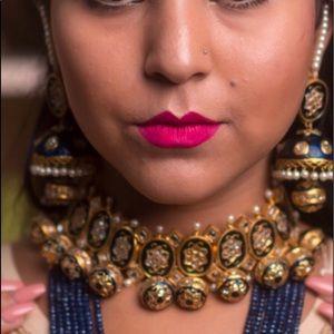 Jewelry - Heavy Meenakari Kundan Necklace Set